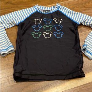 HA Disney long sleeved swim rash guard top